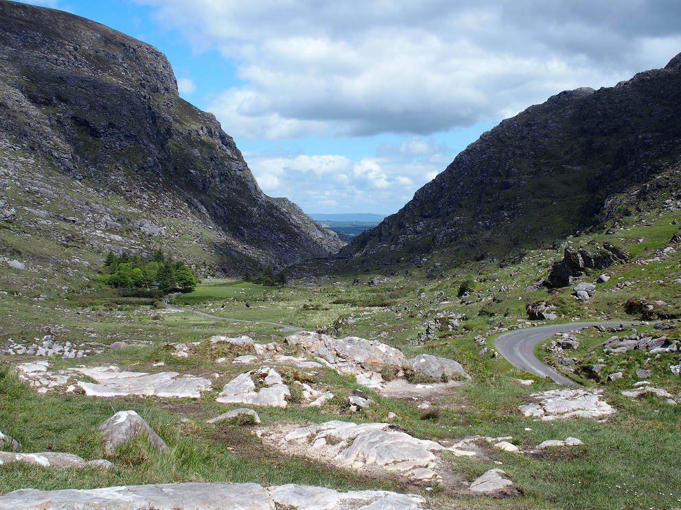 De prachtige Gap of Dunloe, in Killarney National Park.