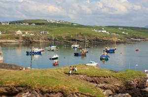 Het mooie haventje van Clare Island
