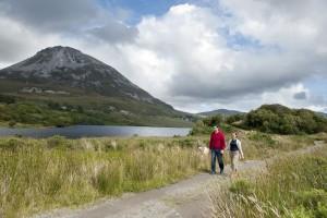 Wandelen bij Mount Errigal