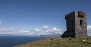 De signaaltoren op het hoogste punt van het eiland