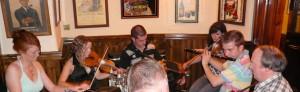 Muziek in O'Donovans pub in Kenmare