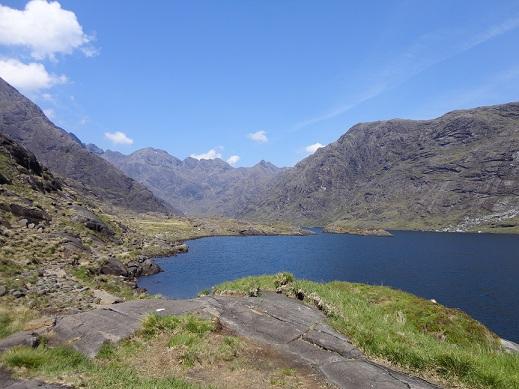 Prachtig weer in Schotland (juni 2013)!