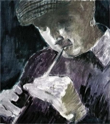 Een schilderij van Michael Dwyer (Foto: www.michaeldwyer.ie)