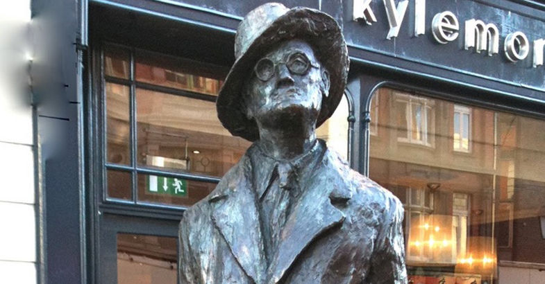 Standbeeld James Joyce (Foto: Tourism Ireland)