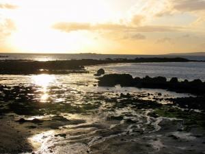 Verlaten strand op Renvyle Peninsula