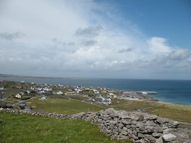 Uitzicht over het dorp vanuit O'Briens Tower