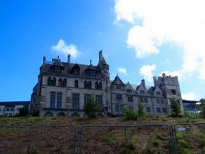 Het vervallen Puxley Manor
