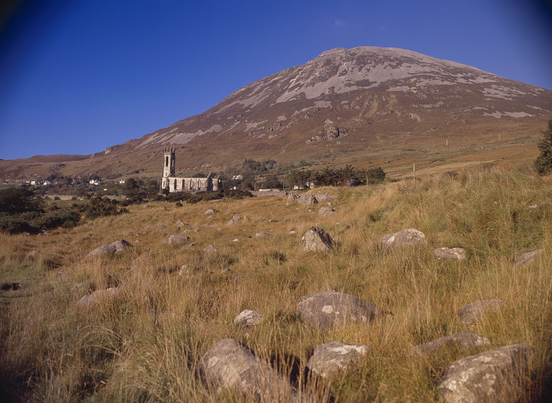 Dunlewy Church Mount Errigal
