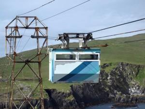 Het kabelbaantje over Dursey Sound