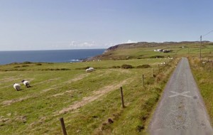 Het geitenpad op Mizen Head, dit mag je niet missen! (Foto: Google Streetview)