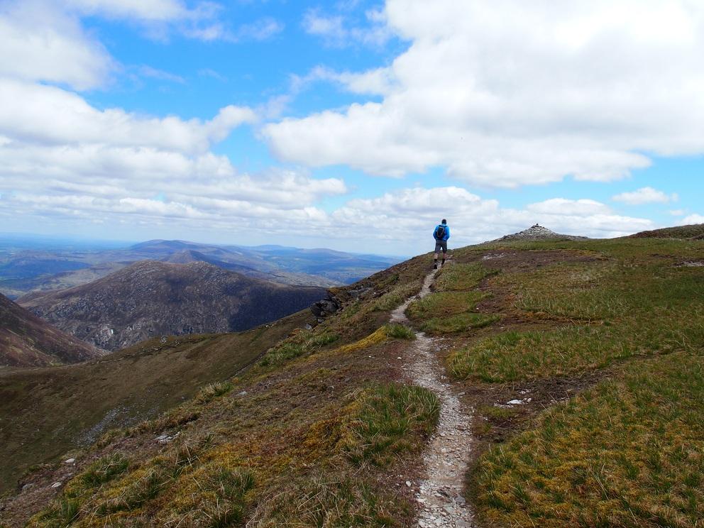 Wandelen op Mangerton Mountain