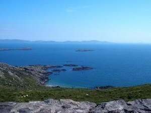 Uitzichtpunt voorbij Waterville, Ring of Kerry