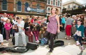 Het Fleadh Cheoil-festival is één van de grootste festivals van Ierland.
