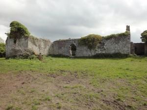 Ruïne van de abdij bij Glenfort