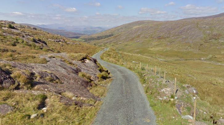 Alleen voor de dappere toerist: de Priests Leap Pass tussen Glengarriff en Kenmare