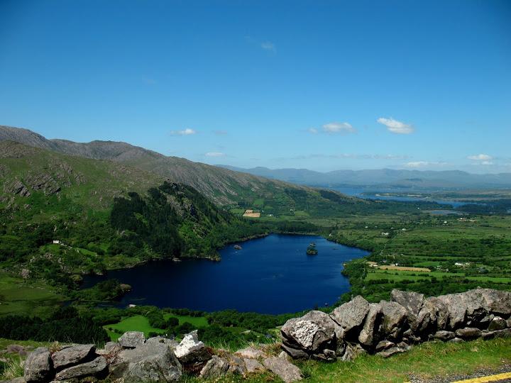 Prachtig uitzicht vanaf de Healy Pass