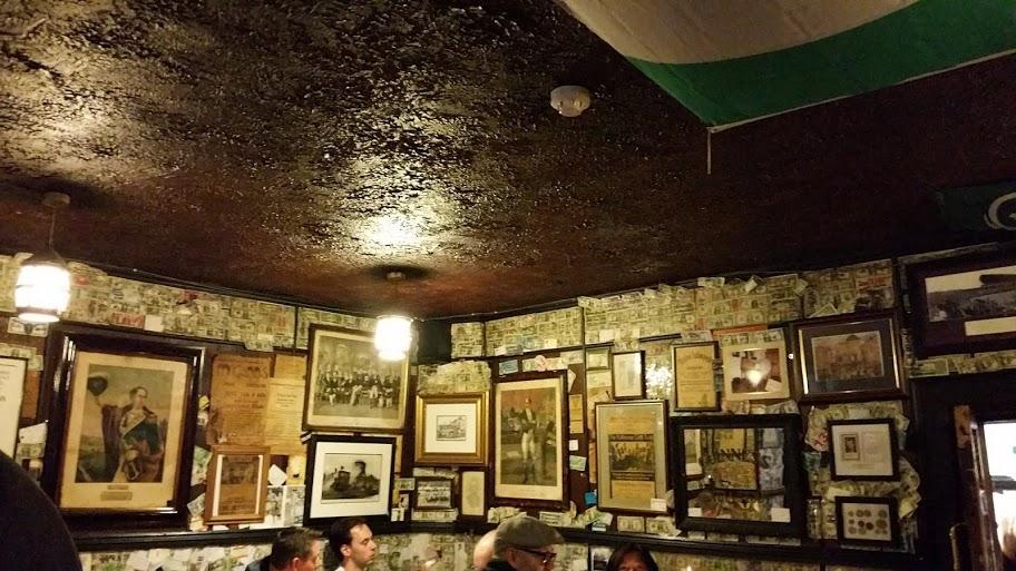 Even op adem komen in de legendarische pub Brazen Head!