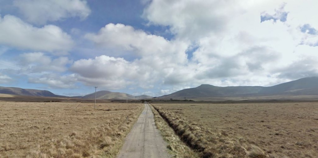 Complete verlatenheid in het Ballycroy National Park!