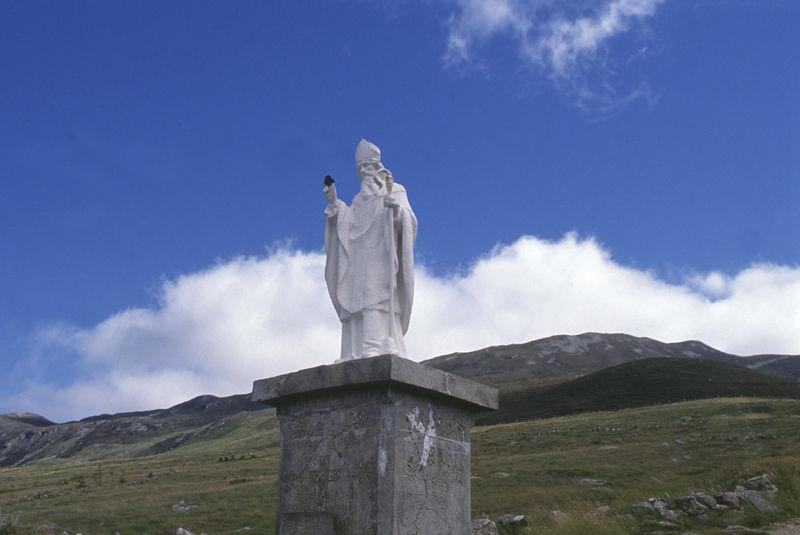 St. Patrick op Croagh Patrick (Mayo)