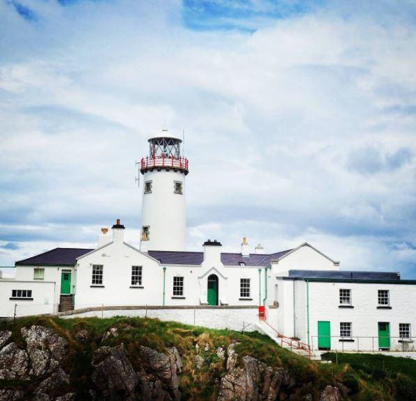 Ierland Donegal Fanad Vuurtoren