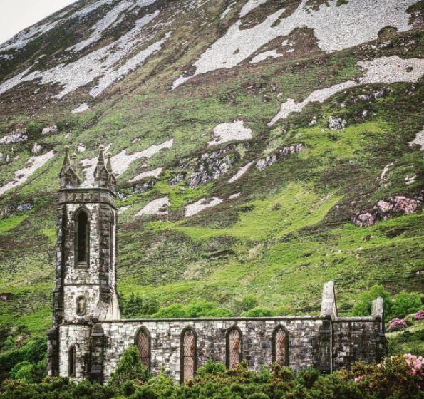 Ierland Donegal kerk Dunlewy