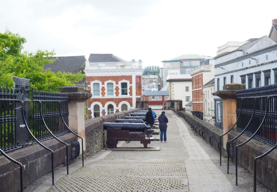 Derry stadsmuur